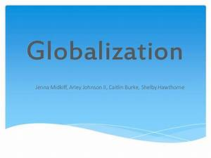 Globalization Powerpoint