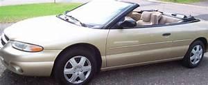 98 Chrysler Sebring Jx Convertible For Sale