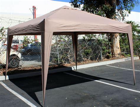 aluminum blue    foldable portable canopy easy set  camping tailgate ebay