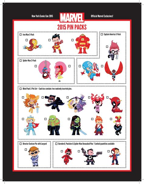 york comic   marvel pins disney pins blog
