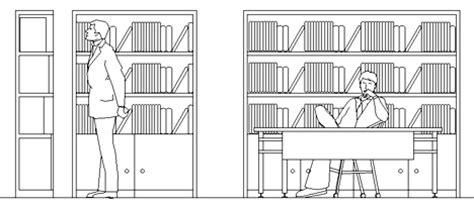 Scaffali Dwg by Biblioteche 2