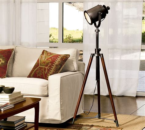 pottery barn photographer s tripod floor l copycatchic
