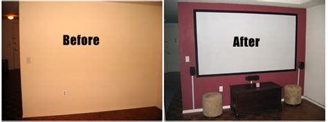 diy projector screens part  paint   projection