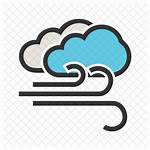Windy Icon Cloudy Line Weather Filled Zone
