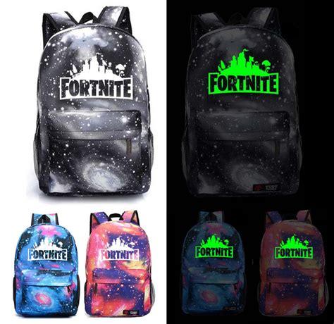 fortnite bag fortnite battle royale school backpack with fluorescent