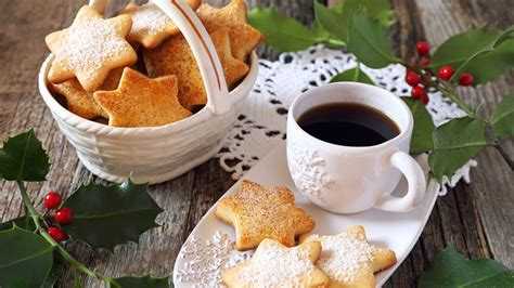 Huge collection, amazing choice, 100+ million high quality, affordable rf and rm images. Download Wallpaper 1366x768 Cookies, coffee, breakfast HD Background