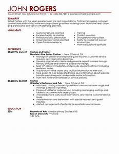host hostess resume examples free to try today With hostess resume examples