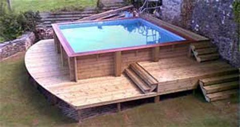piscine hors sol bois carre id 233 e piscine hors sol bois carree