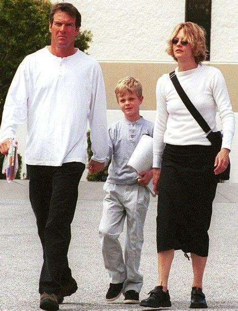 dennis quaid mom dennis quaid and meg ryan with their son jack henry b