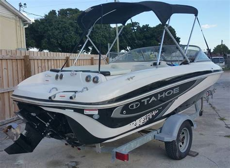 Best Fish And Ski Boat On The Market by Tracker Tahoe Q5i Fish Ski 2011 For Sale For 1 025