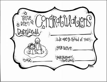 Primary Baptism Lds Certificates Melonheadz Clip Certificate