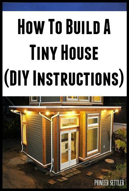 How To Build A Tiny House DIY Plans   House Decorators