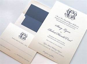 monogrammed wedding invitations wedding invites on With monogram for wedding invitations etiquette