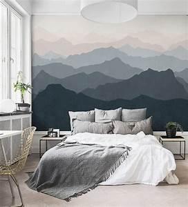 Mountain Mural Wall Art Wallpaper