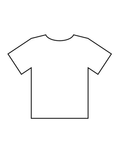 Blank Tshirt Template Blank Tshirt Template Beepmunk