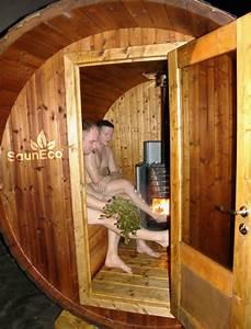 Holz Für Sauna : praktische und mobil holz fasssauna elektroofen f r 6 ~ Eleganceandgraceweddings.com Haus und Dekorationen