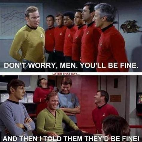Star Trek Red Shirt Meme - image 585010 star trek know your meme