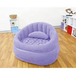 purchase the intex inflatable chair purple for less at