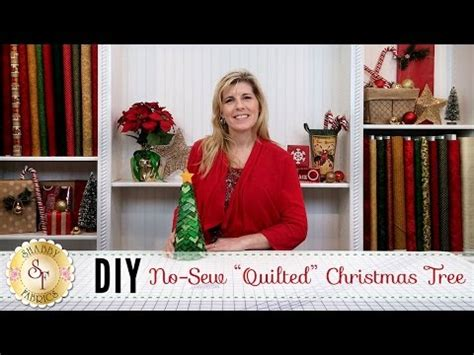 shabby fabrics no sew christmas ornament no sew quilted christmas ornament with jennifer bosworth of shabby fabrics funnydog tv