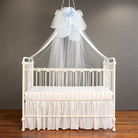 nursery canopy serafina crib canopy white