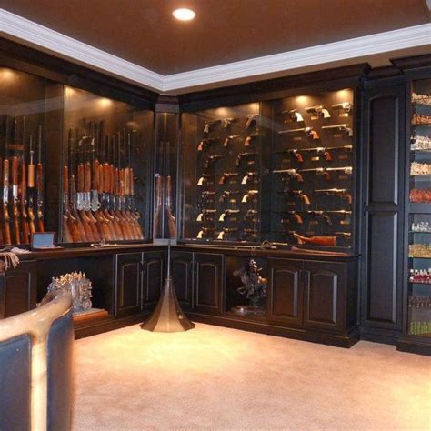 built in gun cabinet 17 best images about built in gun cabinet for basement