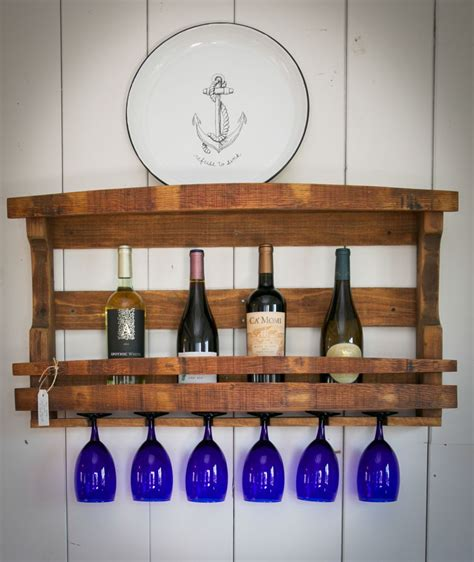 the napa valley wine rack is made from 100 reclaimed wine