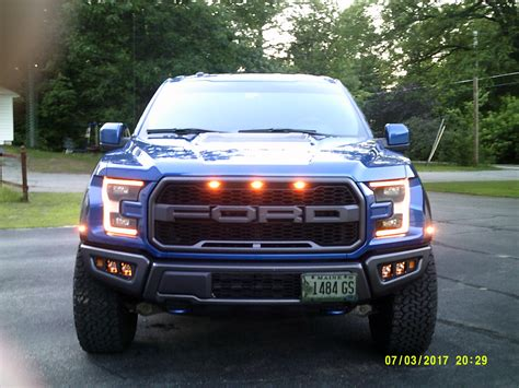 raptor front license plate location page  ford