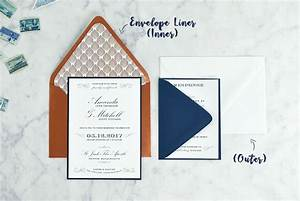 do i need double envelopes for my wedding invitations With wedding invitation suite assembly