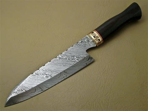 made kitchen knives damascus kitchen chef 39 s knife custom handmade damascus steel