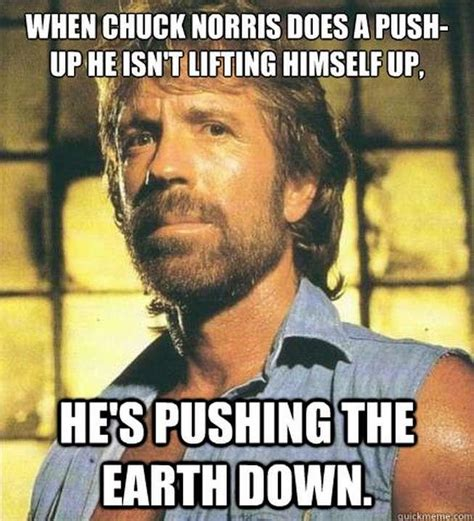 Know Your Meme Chuck Norris - chuck norris doing push ups chuck norris facts know your meme