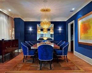 25, Blue, Dining, Room, Designs, Decorating, Ideas