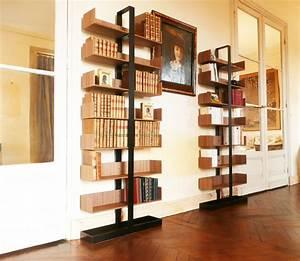 Bibliothèque Moderne Design : biblioth que s verin moderne salon paris par alex de rouvray design ~ Teatrodelosmanantiales.com Idées de Décoration