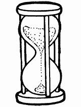 Sand Coloring Hourglass Clock Pages Drawing Google Primarygames Crafts Timers Colouring Sands Pre Clipartmag Season Kid Concept sketch template