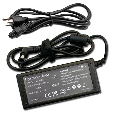 14v 3a ac adapter charger power supply cord for samsung un19f4000afxza un19f4000af un22f5000af