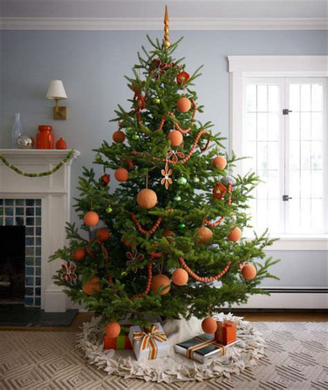 creative christmas tree decorations real simple