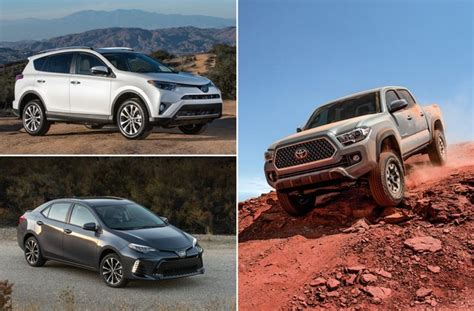 Best Toyota Cars by Best Toyota Vehicles In Our Rankings U S News World