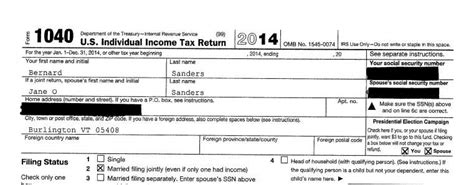 bernie sanders tax returns 5 fast facts you need to know