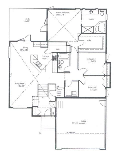 bi level house floor plans modified bi level house plans house plans