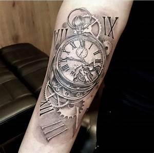 Tatouage Montre A Gousset Avant Bras : pin van wilco marx op tattoo tattoo uhr tattoo ideen en tattoo vorlagen ~ Carolinahurricanesstore.com Idées de Décoration