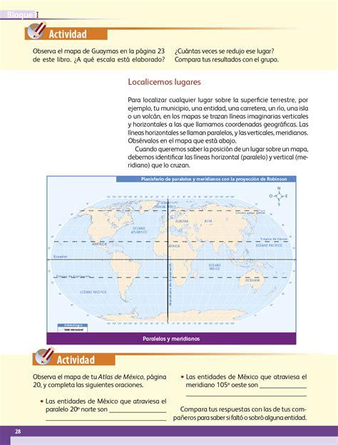 Enviado por jessco • 5 de septiembre de 2012 • 521 palabras (3 páginas) • 6.238 visitas. Geografía Cuarto grado 2017-2018 - Ciclo Escolar - Centro ...