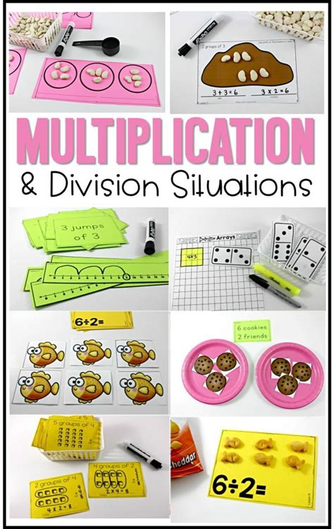 multiplication  division situations  grade