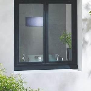 Fenetre pvc couleur noire achat en ligne prix usine for Fenetre pvc noir prix