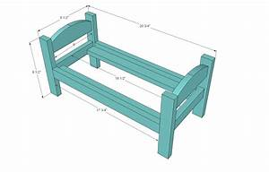 Doll Bed Blueprints Plans DIY Free Download Captain Snooze