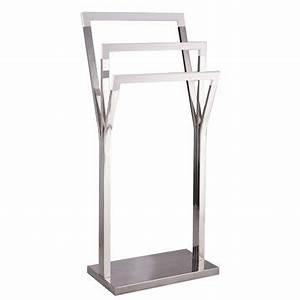 Porte Serviette Chauffant : porte serviettes accessoires et miroirs de salle de ~ Nature-et-papiers.com Idées de Décoration