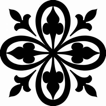 Clipart Designs Pattern Stencil Simple Stencils Program