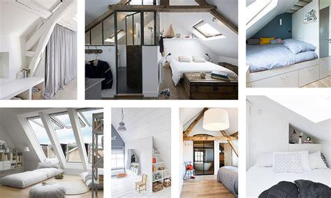 amenager chambre aménager une chambre sous les combles 35 idées pour vous