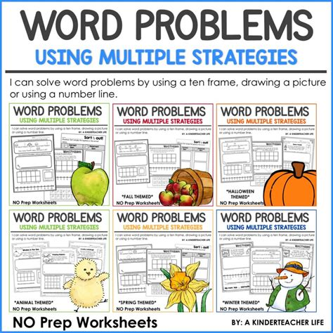 let s solve word problems using strategies a