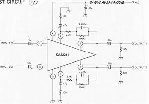 Low Noise Equalizer Amplifier Circuit