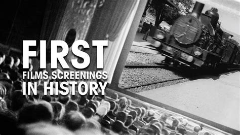 First Films Screenings In History