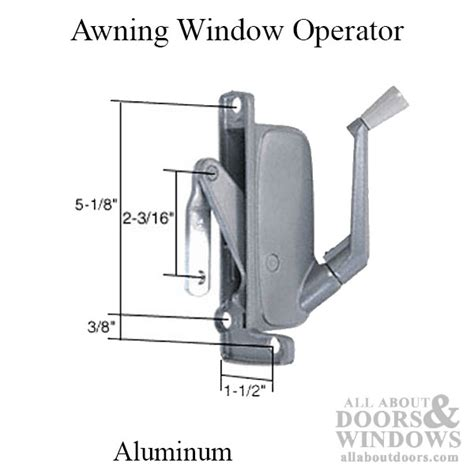 type  awning window operator miami windows  hand aluminum